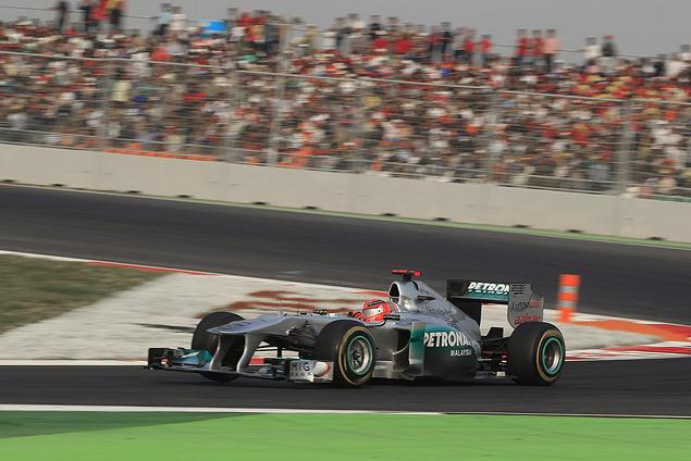 Гран-при Индии вновь выиграл Себастьян Феттель. Фото 3