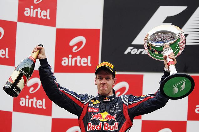Гран-при Индии вновь выиграл Себастьян Феттель. Фото 4