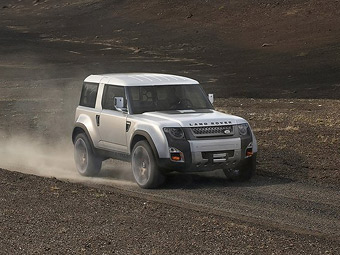 "Land Rover обновит прототип следующего ""Дефендера"""