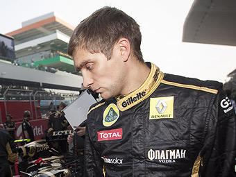 Команда Renault предъявила Петрову претензии за упущенные очки