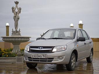 Бюджетный седан Lada Granta заказали 20 тысяч россиян
