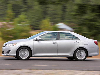 Новые Toyota Camry для России будут собирать в Японии