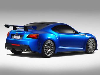 Прототип заднеприводного купе Subaru показали официально