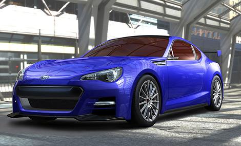 Премьера концептуального купе Subaru состоится в ноябре на моторшоу в Лос-Анджелесе