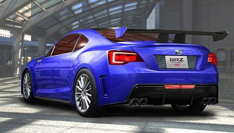 Премьера концептуального купе Subaru состоится в ноябре на моторшоу в Лос-Анджелесе. Фото 1