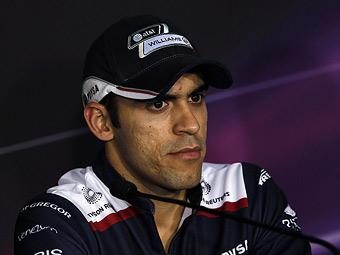 Пастор Мальдонадо потеряет десять мест на старте Гран-при Абу-Даби