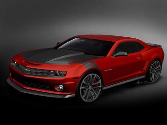 """На тюнинг-выставке SEMA назвали """"самые крутые"""" автомобили"""