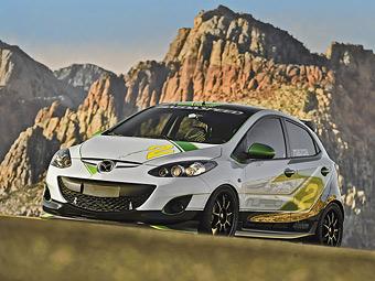 "В Mazda2 установили турбомотор от самой мощной ""трешки"""