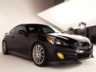 """Американский дрифтер установил в купе Hyundai Genesis пятилитровую """"восьмерку"""""""