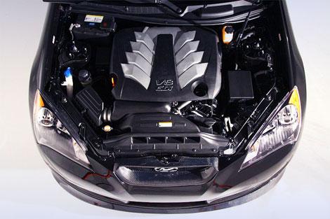 На выставке SEMA показали 450-сильный вариант купе Hyundai Genesis