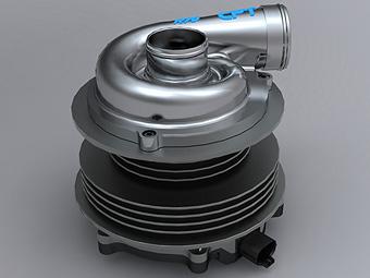 Компания BMW запатентовала электрический турбонагнетатель