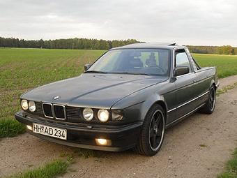 """В Германии выставили на продажу пикап на базе """"семерки"""" BMW"""