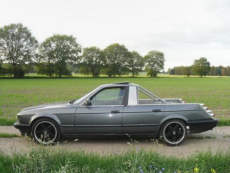 Необычный пикап BMW оценили в 4,5 тысячи евро