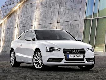 В Европе начались продажи обновленного купе Audi A5