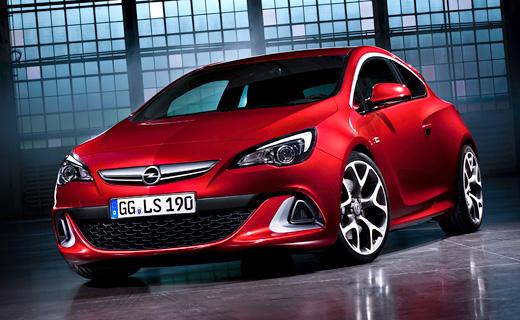 """Opel представил """"заряженный"""" хэтчбек Astra нового поколения"""