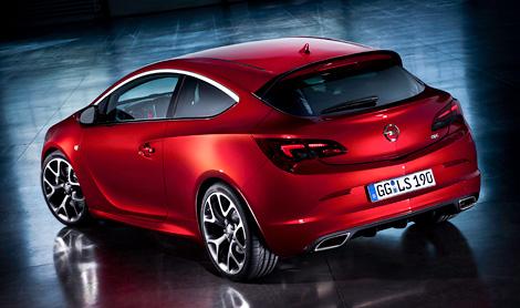 Хэтчбек Opel Astra OPC получил двухлитровый турбомотор мощностью 280 лошадиных сил