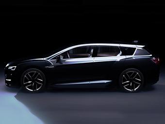 Subaru привезет в Токио концептуальный спорт-универсал