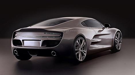 Компания HBH рассказала о среднемоторном суперкаре, построенном на базе переднемоторного Aston Martin V12 Vantage