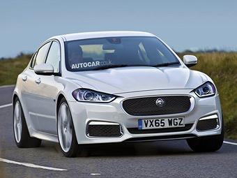 Jaguar разработает доступный седан для Китая и США