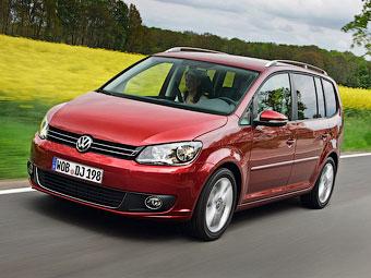 VW Touran получил в России новый двигатель