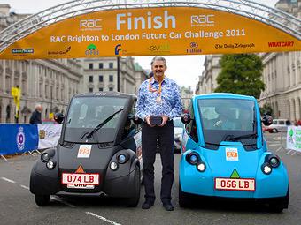 Маленький электрокар Гордона Мюррея выиграл эко-марафон