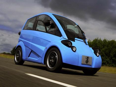 Cубкомпактный электрокар Murray T.27 занял первое место в соревновании RAC Future Car Challenge