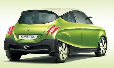 На моторшоу в Токио компания Suzuki представит концепт-кар под названием Regina