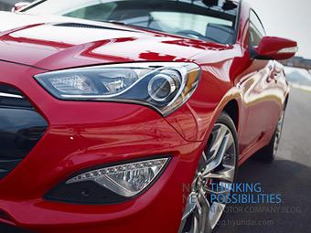 Опубликованы первые изображения обновленного купе Hyundai Genesis