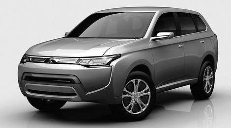 Компания Mitsubishi Motors опубликовала фотографии двух новых автомобилей