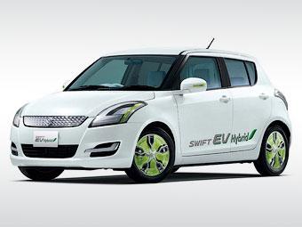 Suzuki привезет в Токио гибридный Swift