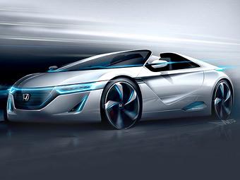 Honda готовит к Токийскому автосалону спортивный электрокар
