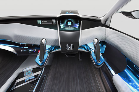На моторшоу в Токио компания Honda покажет концептуальный хэтчбек Advanced Cruiser-X. Фото 2