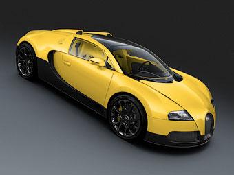 Bugatti представила три спецверсии открытого Veyron