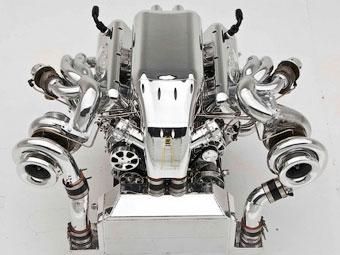 Американцы построили 1400-сильный 10,4-литровый мотор V8