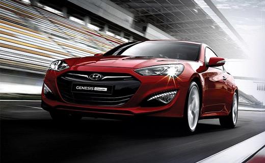 Рассекречено обновленное купе Hyundai Genesis