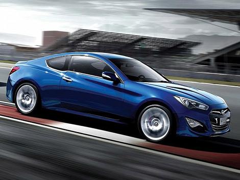 Компания Hyundai распространила фотографии обновленного купе Genesis