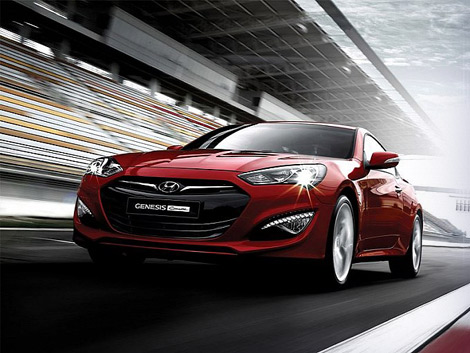 Компания Hyundai распространила фотографии обновленного купе Genesis. Фото 1