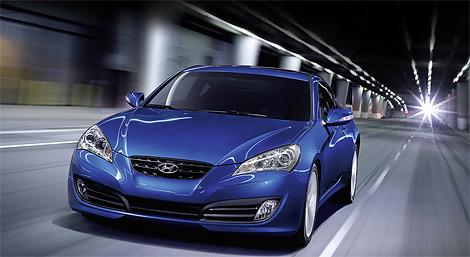 Компания Hyundai распространила фотографии обновленного купе Genesis. Фото 2