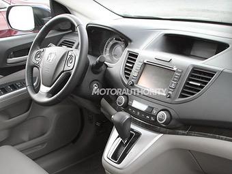 Фотошпионы засняли интерьер нового Honda CR-V