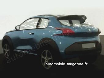 Французский журнал раздобыл снимок конкурента Nissan Juke от Peugeot