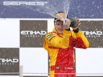 Фабио Леймер выиграл первую гонку GP2 в Абу-Даби