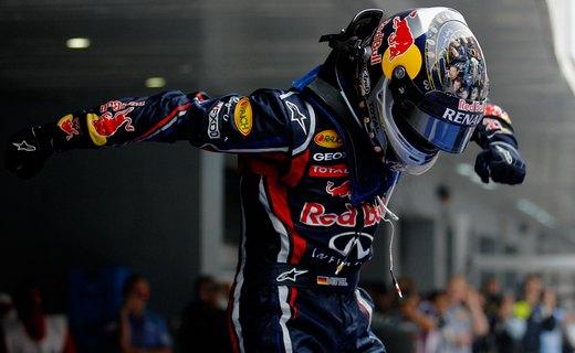 Себастьян Феттель завоевал поул-позицию на Гран-при Абу-Даби