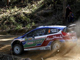 Латвала перехватил лидерство в Ралли Великобритании WRC