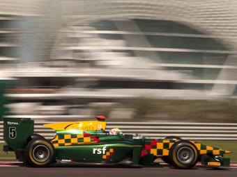 Джеймс Каладо одержал победу в спринте GP2 в Абу-Даби