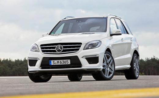 """Mercedes-Benz рассекретил новый """"заряженный"""" M-Class"""