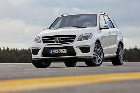 Новый Mercedes-Benz ML 63 AMG получил 525-сильный твин-турбо двигатель V8. Фото 1