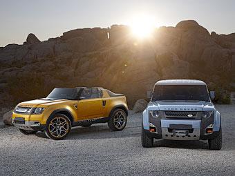 """Land Rover слегка приблизил прототипы нового """"Дефендера"""" к серии"""