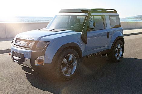 Компания Land Rover немного обновила предвестников модели Defender следующего поколения