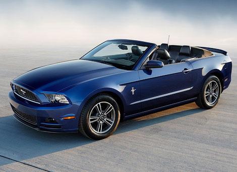 """""""Мустанги"""" получили обновленный дизайн, новые опции и более мощный мотор V8. Фото 4"""