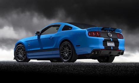 """Компания Ford обновила """"заряженные"""" модификации Ford Mustang — Shelby GT500 и Boss 302"""